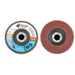 Ламеларен диск Ф115мм Пегасус Алуминиум оксид